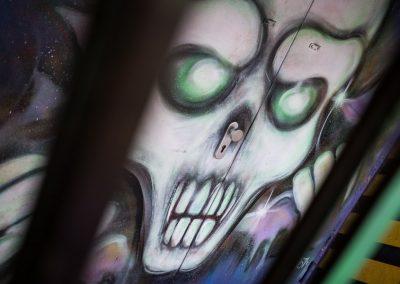 Graffiti am Capitol