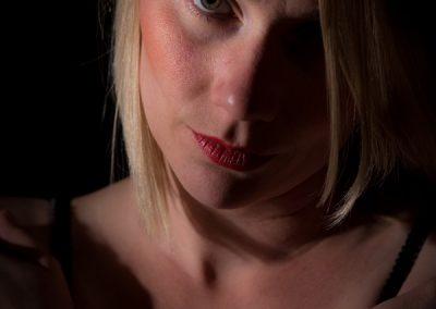 Portraitfoto: low key