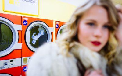 Kleines Shooting im Waschsalon