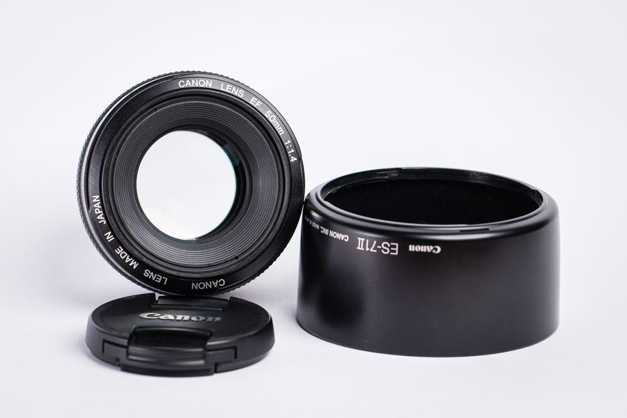 Canon-Objektive zu verlaufen
